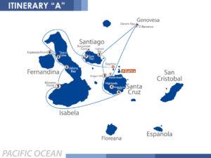 Itinerary A Nemo III Galapagos
